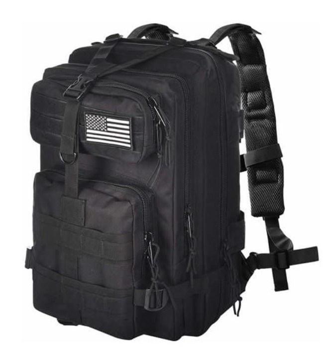 EvaTac Black Backpack