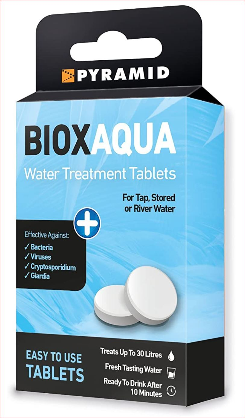 Pyramid Biox Water Purification Tablets